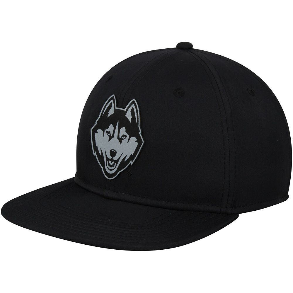 Men's Nike Black UConn Huskies Aerobill Pro Showcase Performance Snapback Hat