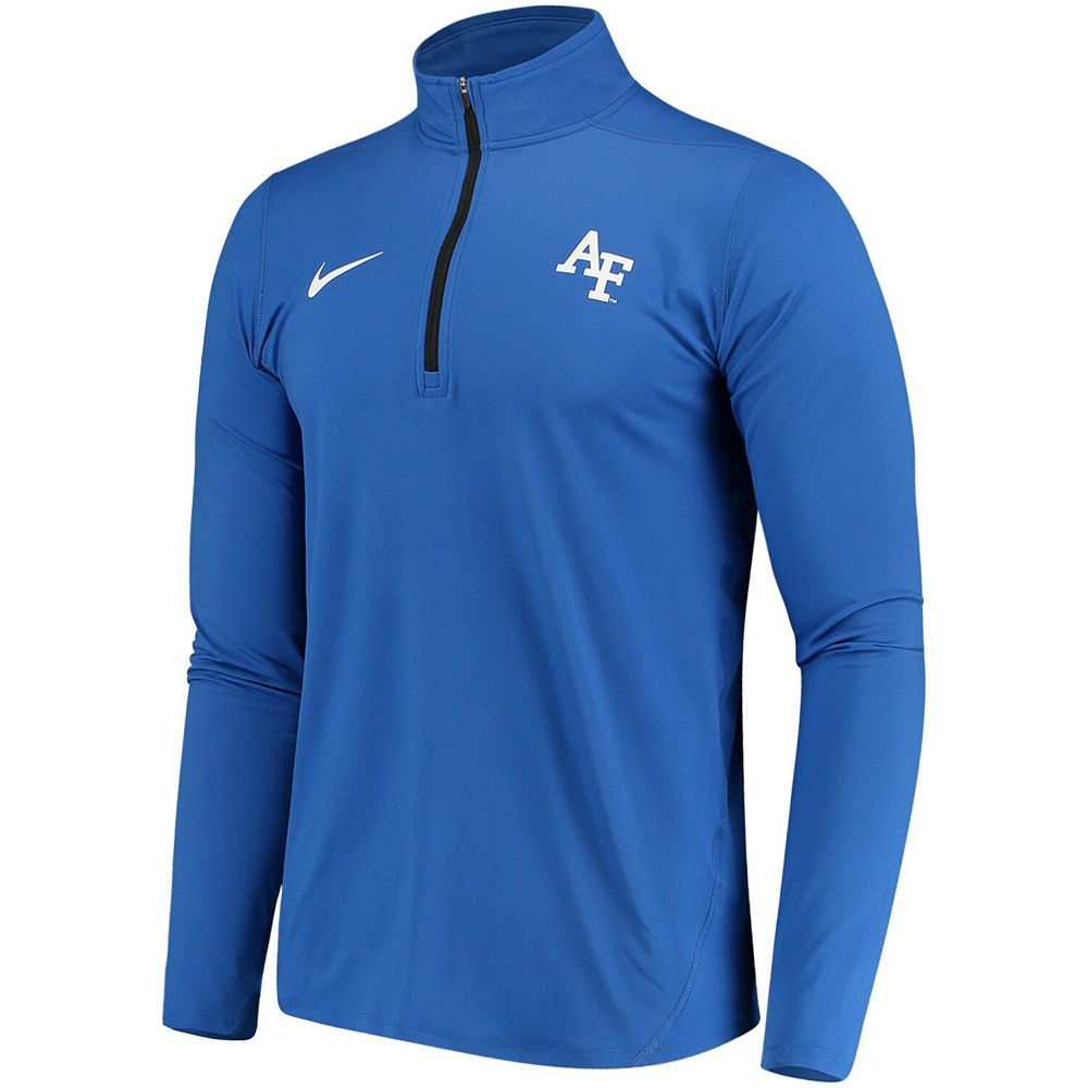 Men's Nike Royal Air Force Falcons Element Performance Half-Zip Pullover Jacket