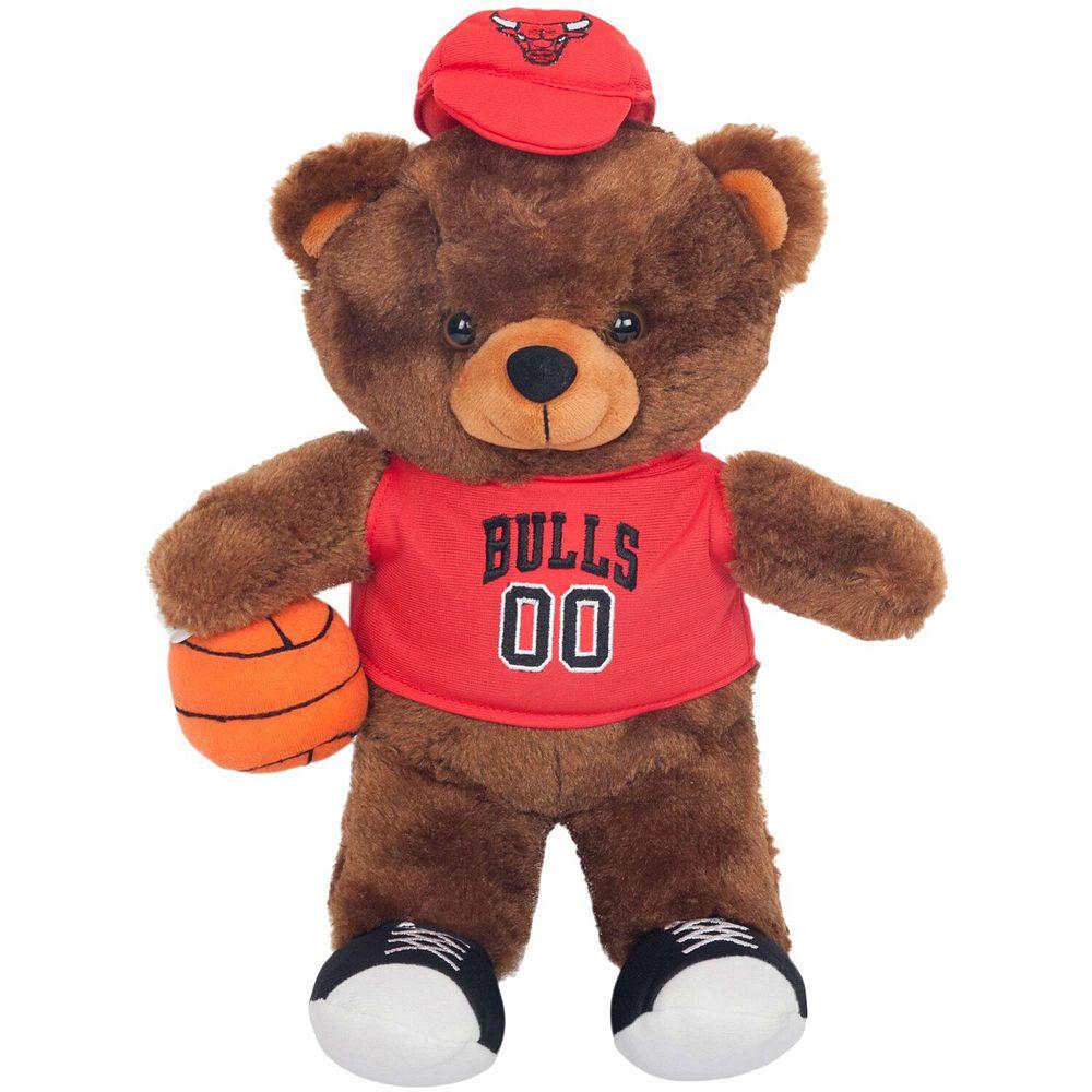 Chicago Bulls Locker Room Buddy Dress Me Plush Bear Kit
