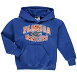 Youth Champion® Royal Florida Gators Powerblend Pullover Hoodie