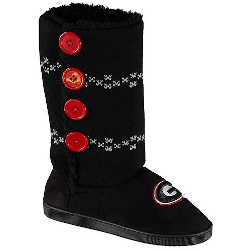 Women's Georgia Bulldogs Button Up Boots