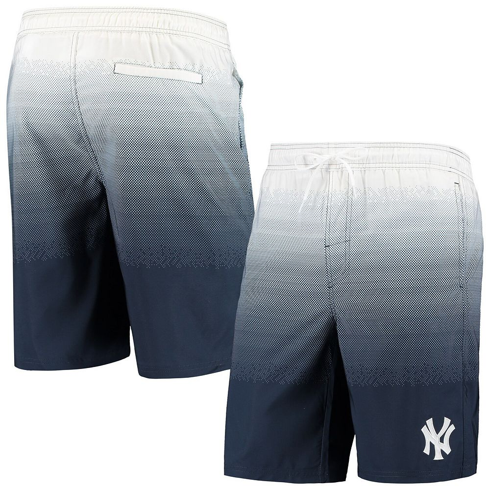 Men's G-III Sports by Carl Banks Navy New York Yankees Horizon Swim Trunks