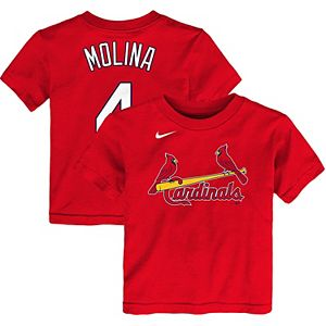 Toddler Nike Yadier Molina Red St. Louis Cardinals Player Name & Number T-Shirt