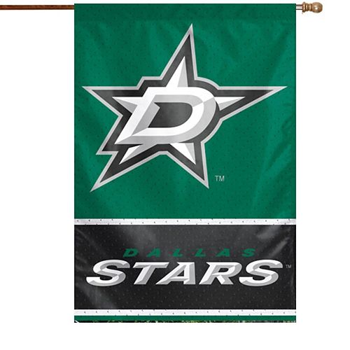 "Dallas Stars WinCraft 28"" x 40"" Two-Sided Vertical Flag"