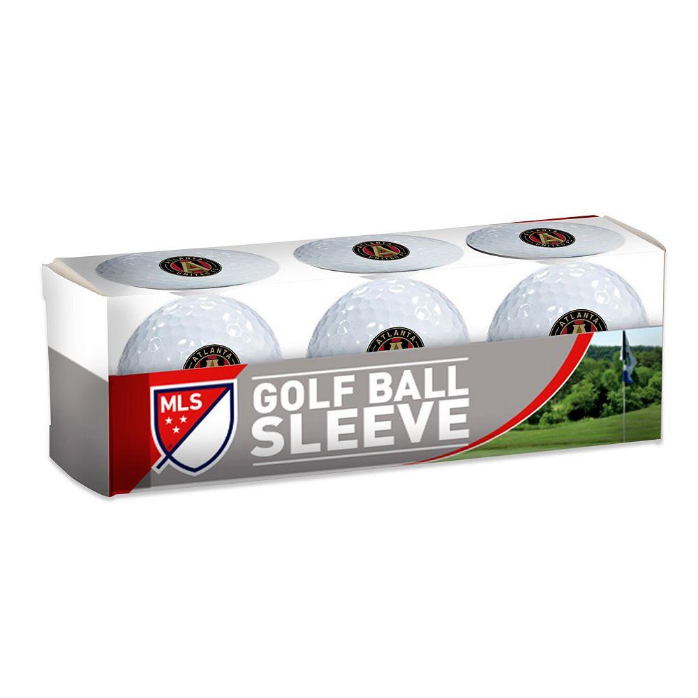 WinCraft Atlanta United FC 3-Pack Golf Ball Sleeve