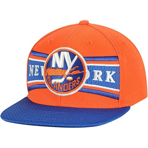 Men's CCM Orange New York Islanders Team Color Snapback Adjustable Hat
