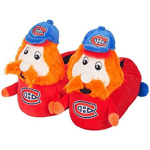Youth Montreal Canadiens 3D Mascot Slippers