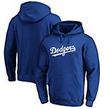 Men's Fanatics Branded Royal Los Angeles Dodgers Official Wordmark Pullover Hoodie