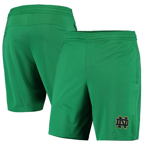 Men's Under Armour Kelly Green Notre Dame Fighting Irish College Raid Performance Shorts
