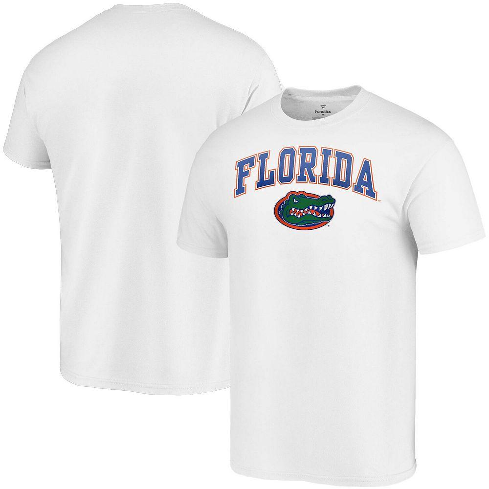 Men's Fanatics Branded White Florida Gators Campus T-Shirt
