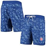 Men's G-III Sports by Carl Banks Royal Chicago Cubs Wave Valley Swim Trunks