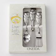 Oneida Love Lasts 3-pc. Cubby Bear Flatware Set
