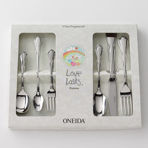 Oneida Chateau 6-pc. Progress Flatware Set