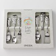 Oneida Love Lasts 6-pc. Cubby Bear Progress Flatware Set