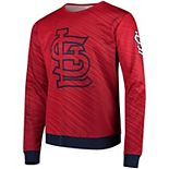Men's Red St. Louis Cardinals Static Rain Pullover Sweater