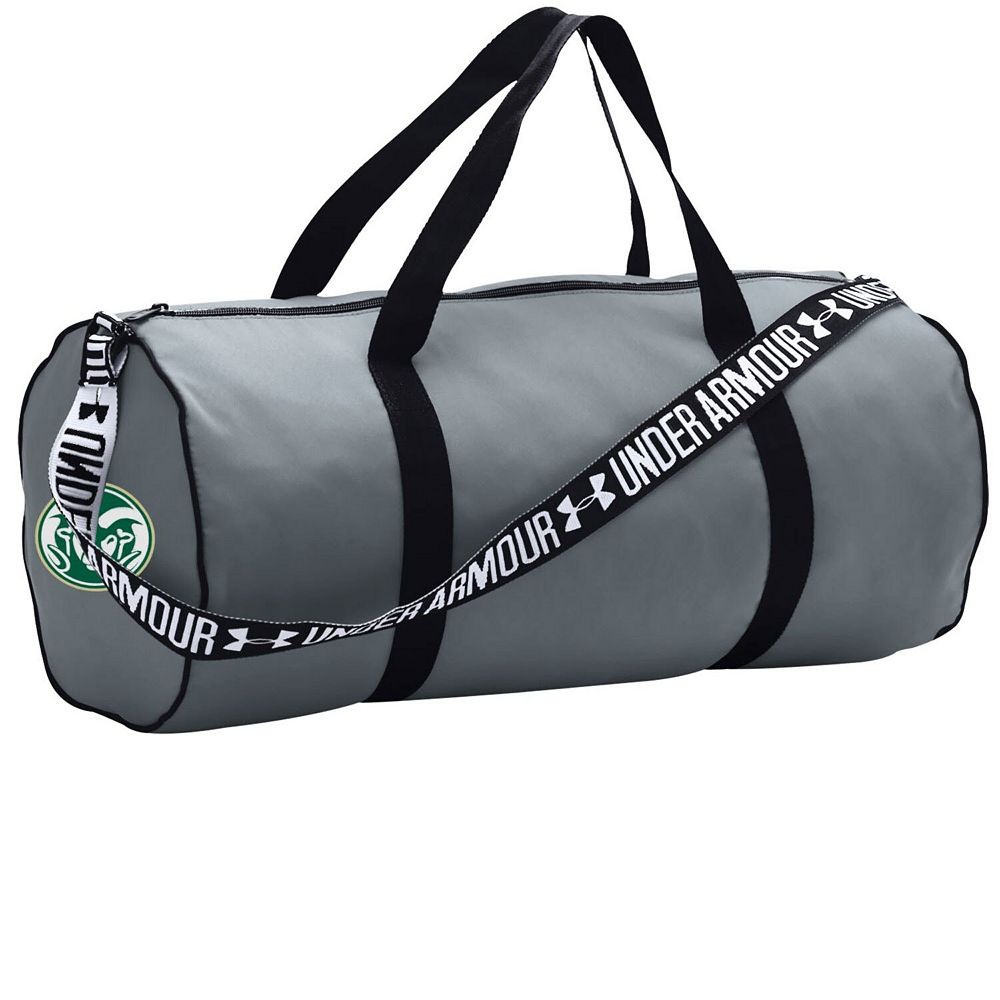 Under Armour Steel Colorado State Rams Favorites Performance Duffel Bag