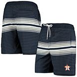 Men's G-III Sports by Carl Banks Navy Houston Astros Assist Volley Swim Trunks