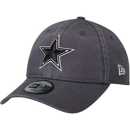 Men's New Era Charcoal Dallas Cowboys Sagamore Relaxed 49FORTY Fitted Hat