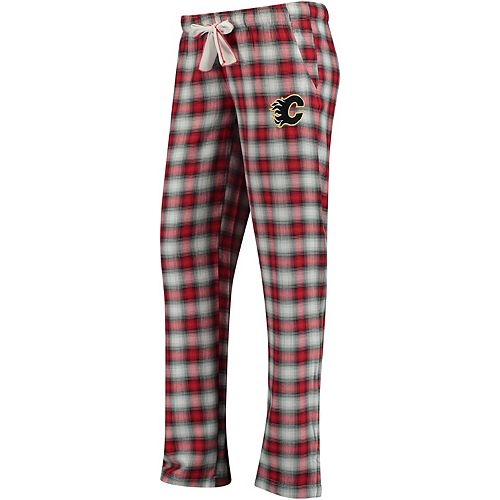 Women's Concepts Sport Red/Black Calgary Flames Forge Pajama Pants