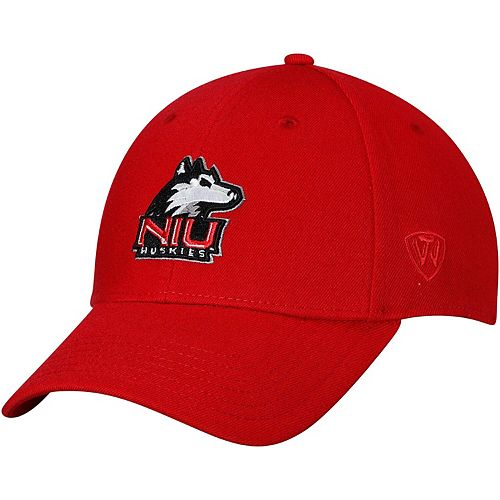 Men's Top of the World Red Northern Illinois Huskies Class Flex Hat