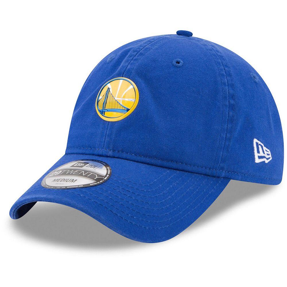 Men's New Era Royal Golden State Warriors On-Court 29TWENTY Fitted Hat