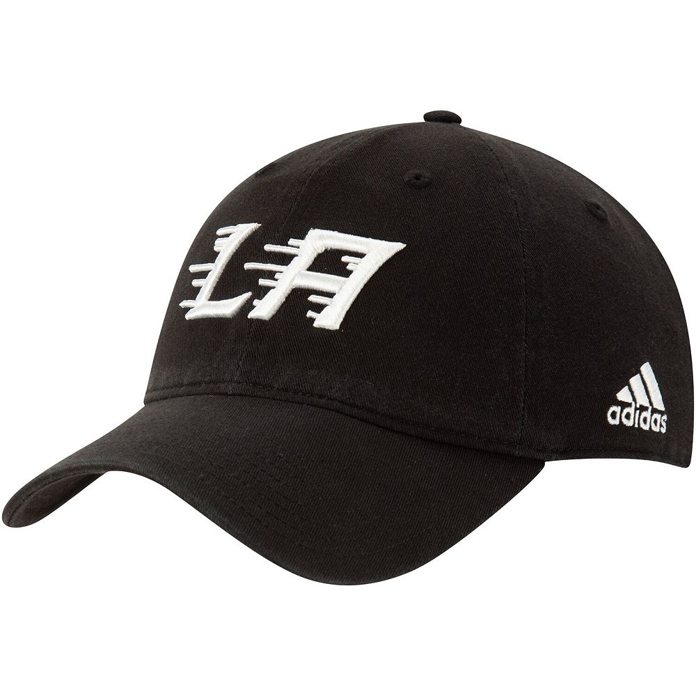 Men's adidas Black Los Angeles Kings 2020 Stadium Series Logo Adjustable Hat