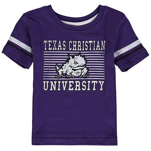 Toddler Colosseum Purple TCU Horned Frogs Qualifier T-Shirt