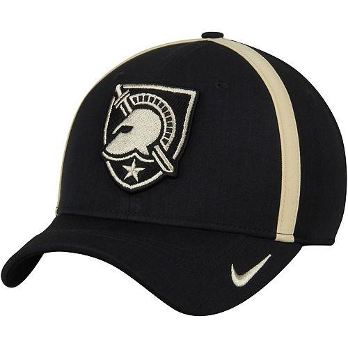 Men's Nike Black Army Black Knights 2017 Sideline AeroBill Coaches Performance Adjustable Hat