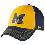 Women's Nike Navy Michigan Wolverines Logo Hat