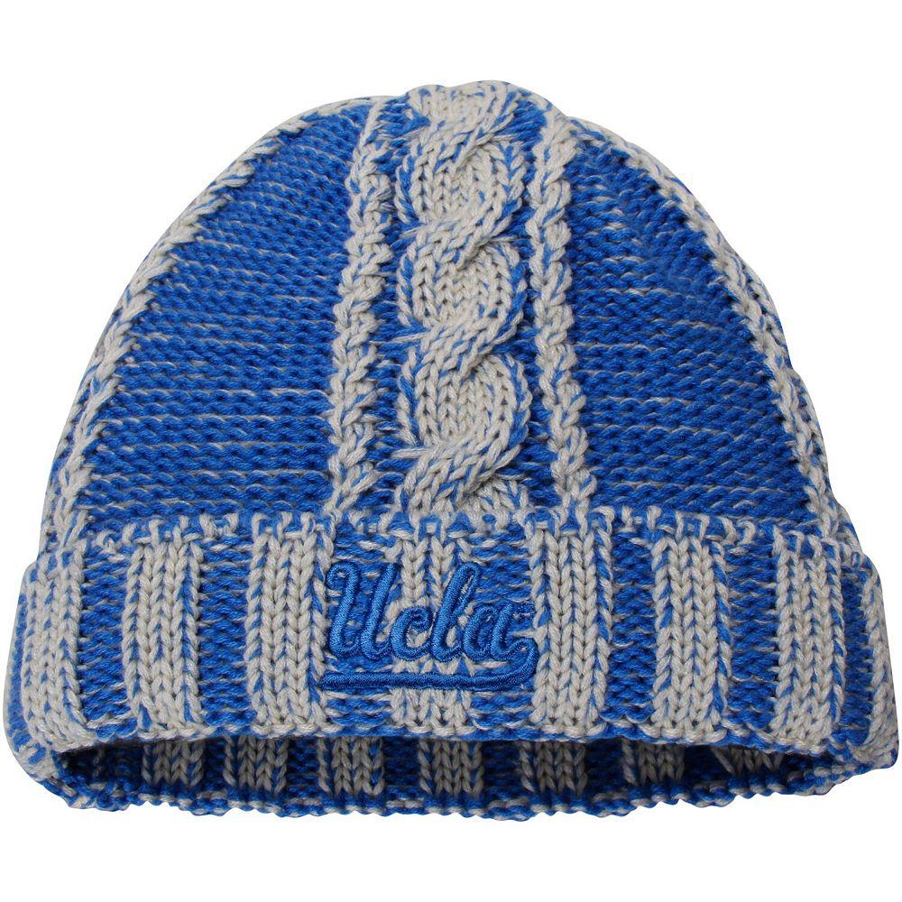 Women's adidas Blue/Natural UCLA Bruins Cuffed Knit Hat