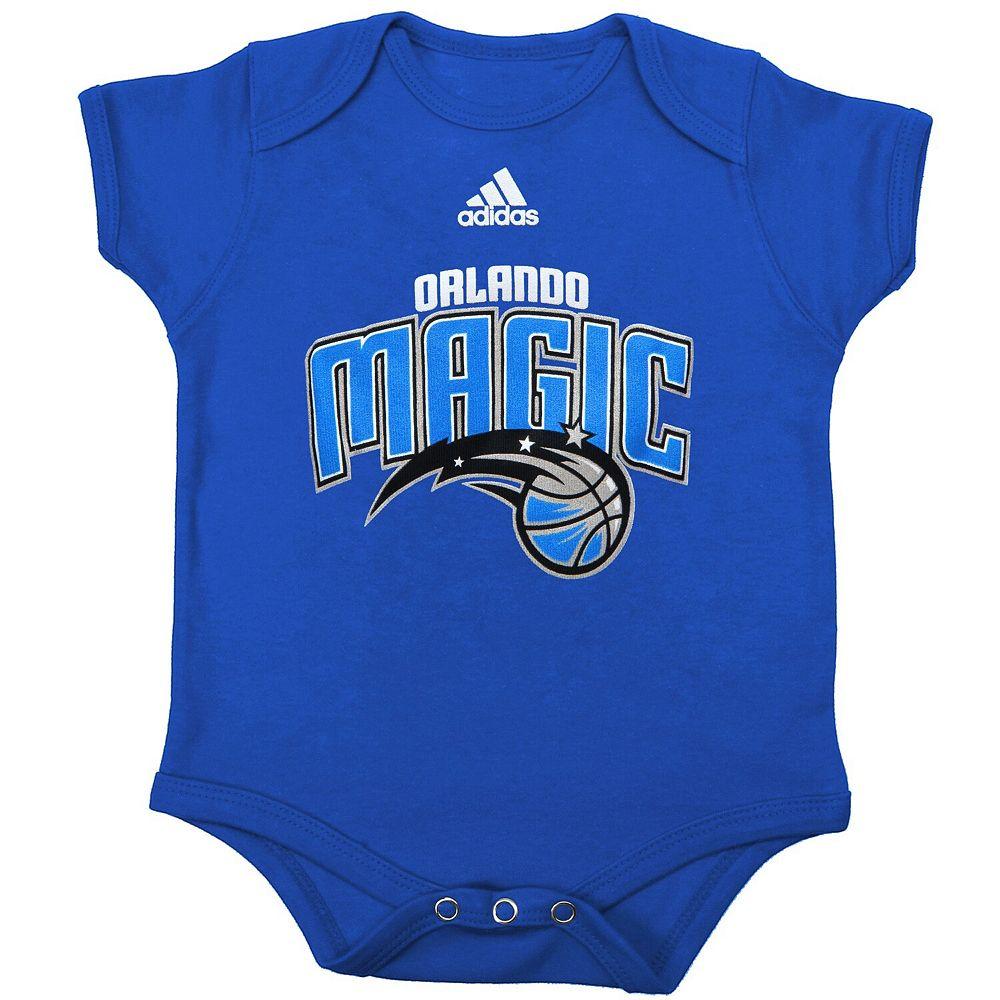 Infant adidas Blue Orlando Magic Primary Logo Bodysuit