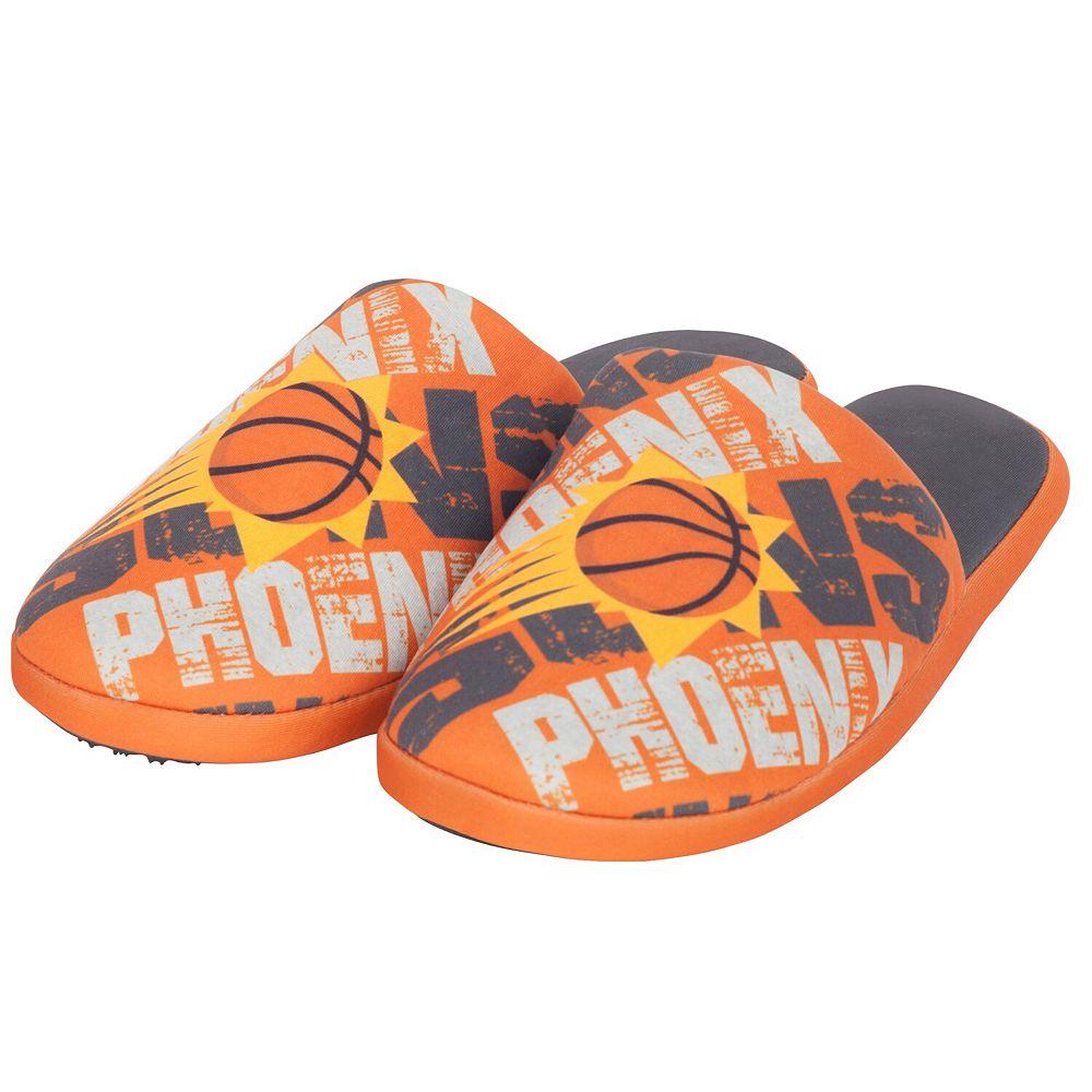 Men's Orange Phoenix Suns Digital Print Slippers