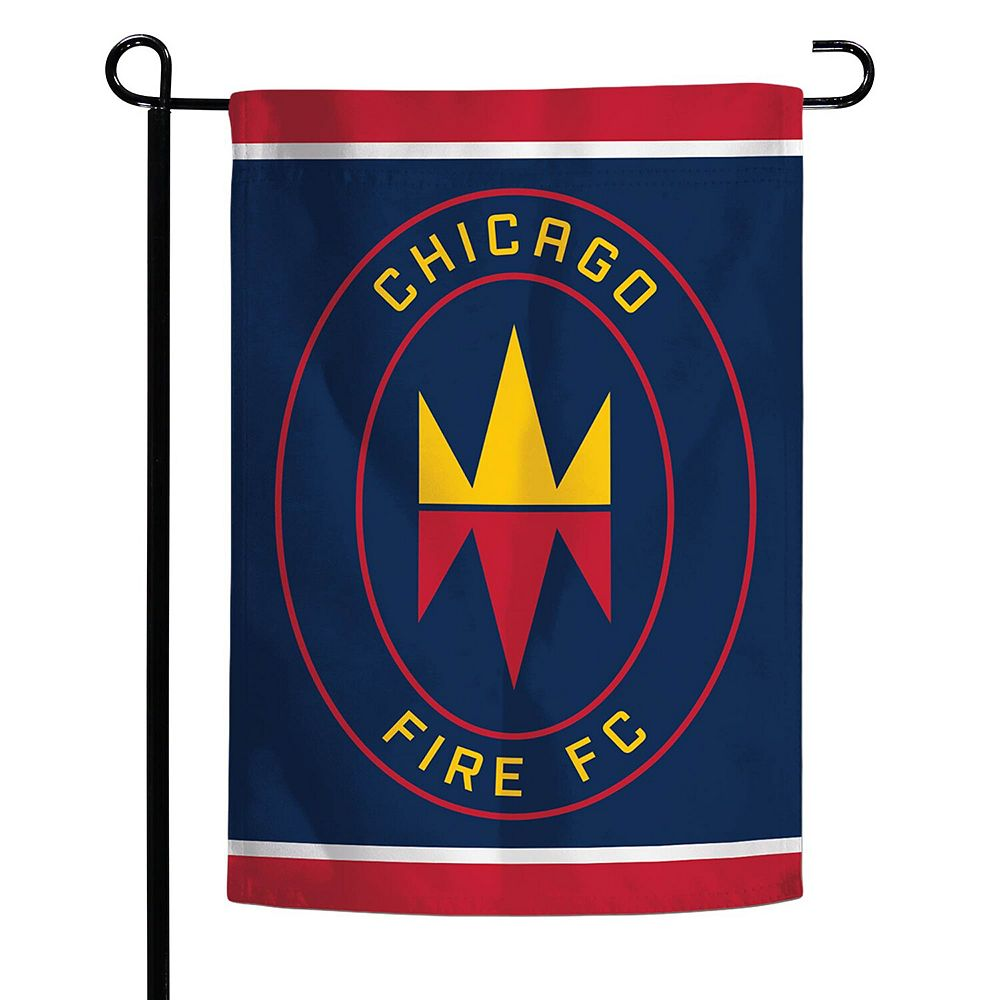 """WinCraft Chicago Fire 12"""" x 18"""" Double-Sided Garden Flag"""