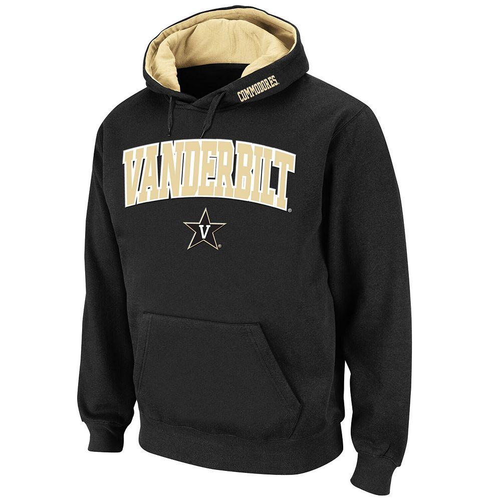 Men's Stadium Athletic Black Vanderbilt Commodores Arch & Logo Pullover Hoodie