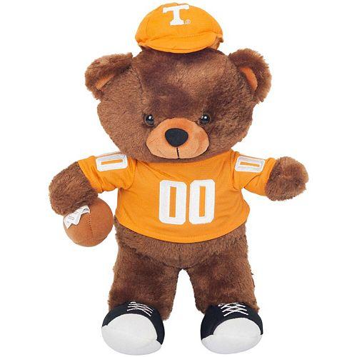 Tennessee Volunteers Locker Room Buddy Dress Me Plush Bear Kit