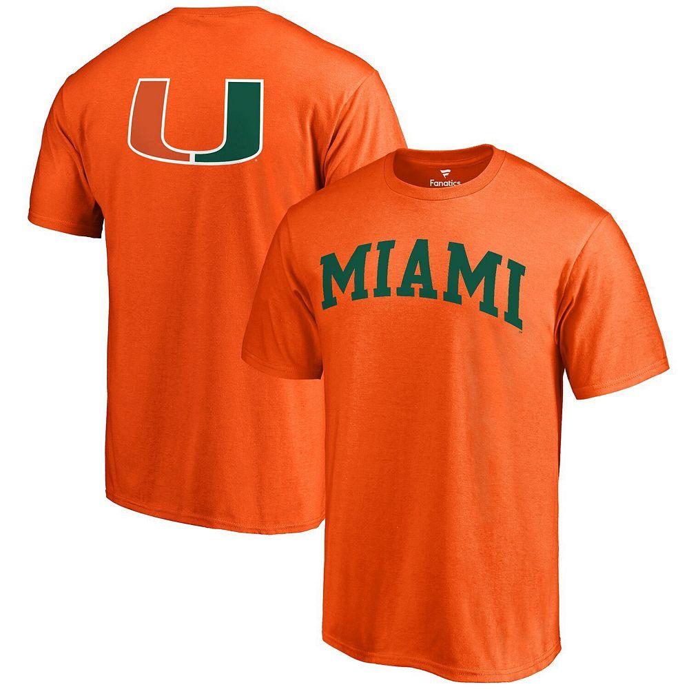 Men's Orange Miami Hurricanes Primetime T-Shirt