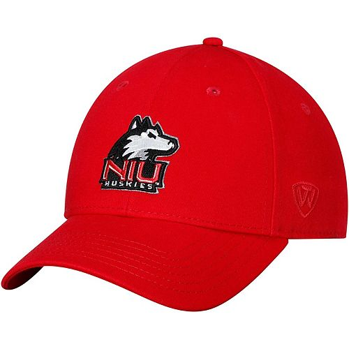 Men's Top of the World Red Northern Illinois Huskies Observer Adjustable Snapback Hat