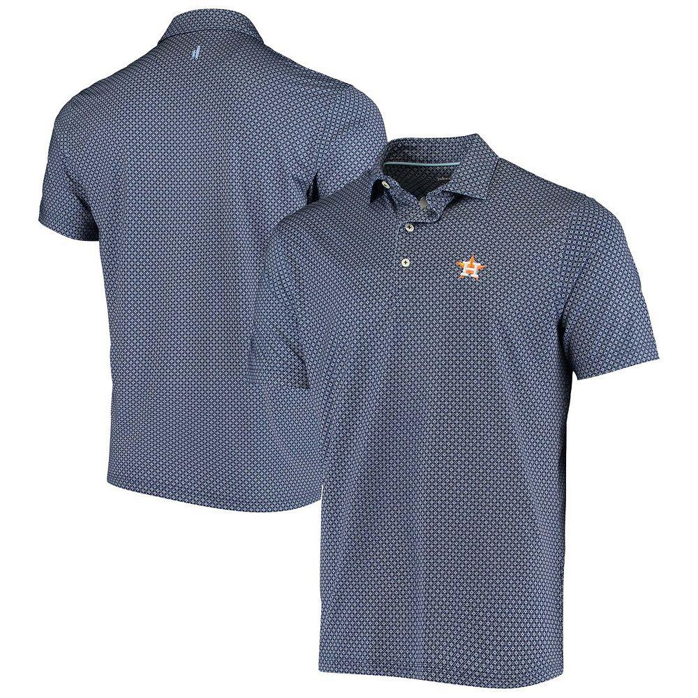 Men's johnnie-O Navy Houston Astros Howe Polo