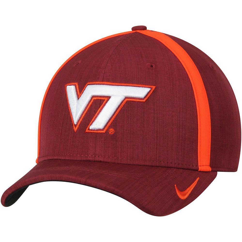 Men's Nike Maroon Virginia Tech Hokies 2017 Sideline AeroBill Coaches Performance Adjustable Hat