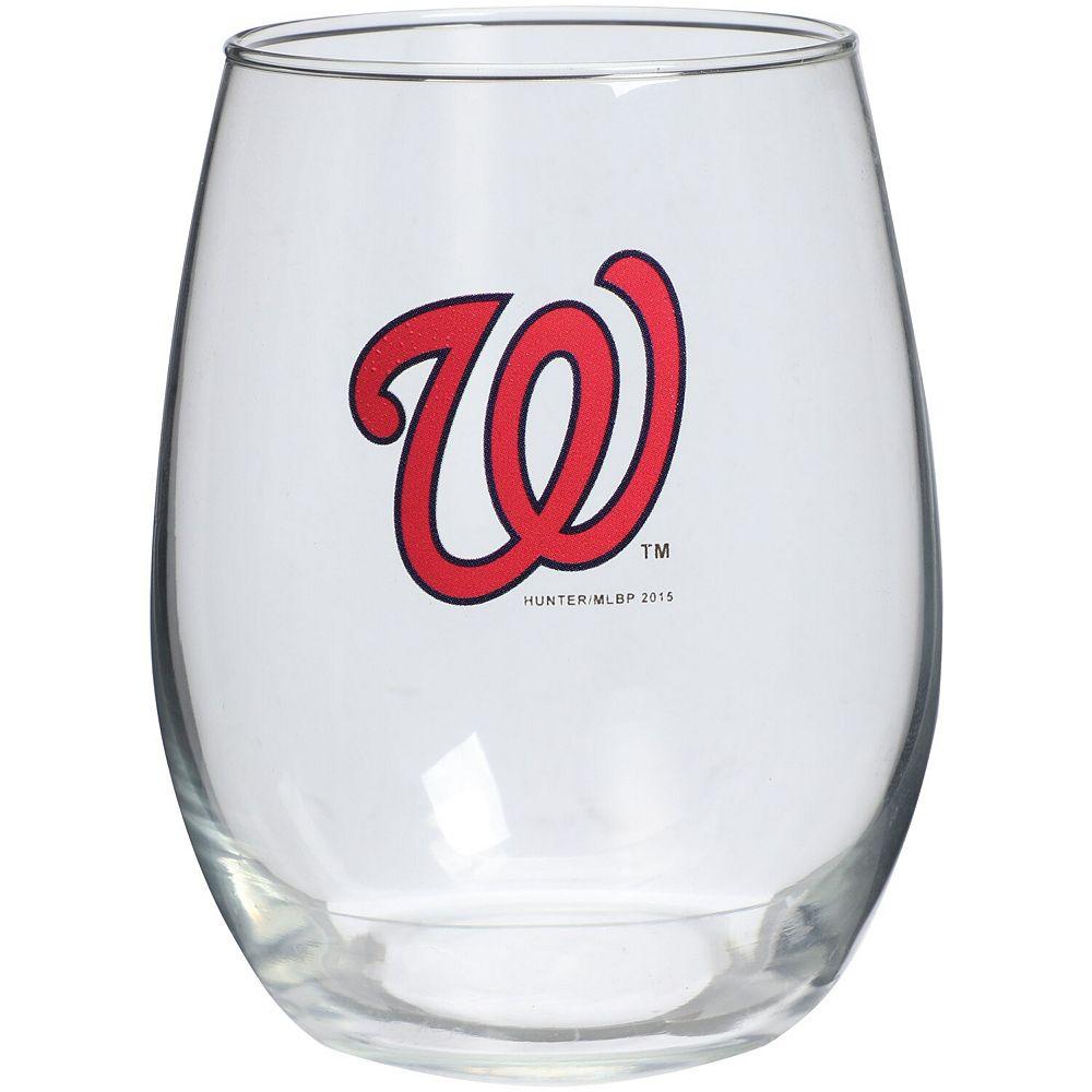 Washington Nationals 15oz. Stemless Wine Glass