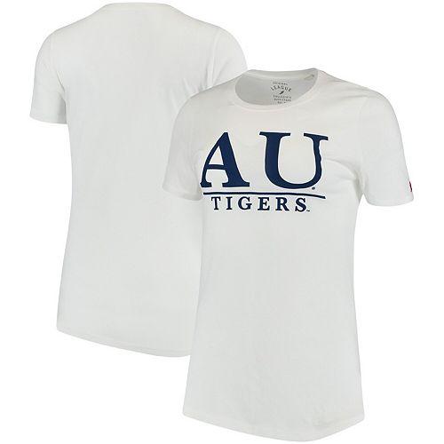 Women's White Auburn Tigers League Freshy T-Shirt