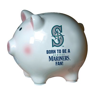 Seattle Mariners Born To Be Ceramic Piggy Bank
