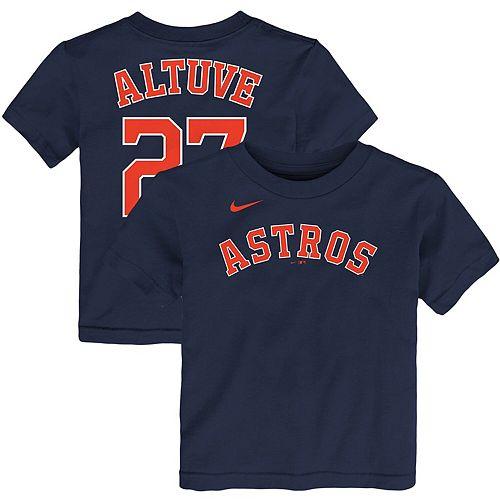 Toddler Nike Jose Altuve Navy Houston Astros Player Name & Number T-Shirt
