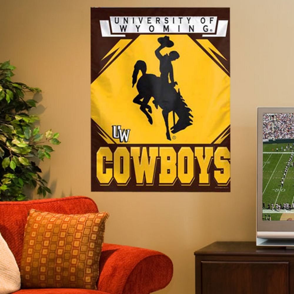 Wyoming Cowboys 27'' x 37'' Vertical Banner Flag