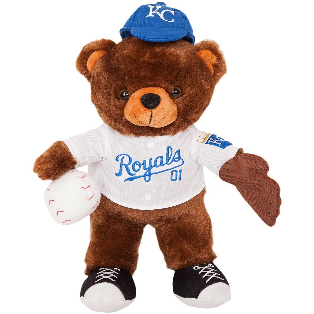 Kansas City Royals Locker Room Buddy Dress Me Plush Bear Kit