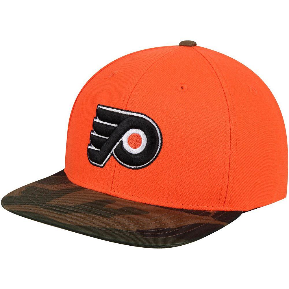 Men's American Needle Orange Philadelphia Flyers Sundown Snapback Adjustable Hat