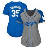 Women's Cody Bellinger Gray/Royal Los Angeles Dodgers Plus Size Jersey