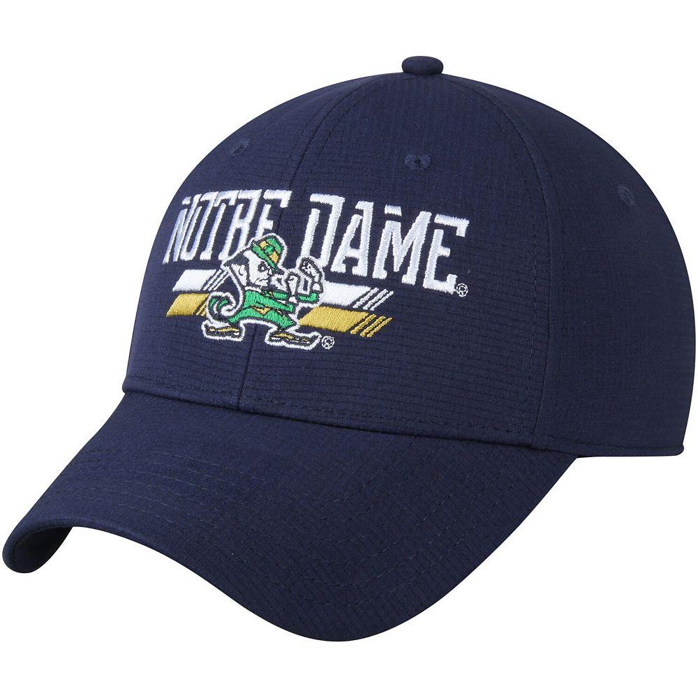 Men's Under Armour Navy Notre Dame Fighting Irish Airvent Structured Flex Hat
