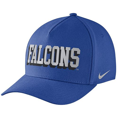 Men's Nike Royal Air Force Falcons Local DNA Verbiage Swoosh Flex Hat