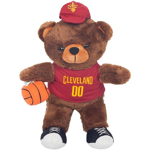 Cleveland Cavaliers Locker Room Buddy Dress Me Plush Bear Kit